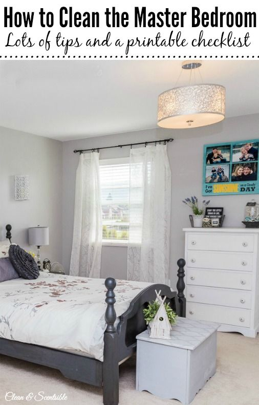 Clean Bedrooms Magnificent How To Organize Your Master Bedroom  Master Bedroom Cleaning And Inspiration