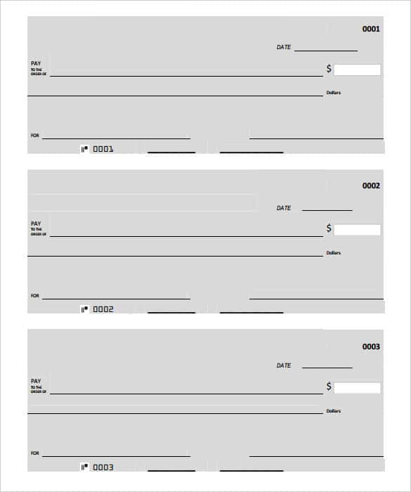 24 Blank Check Template Doc Psd Pdf Vector Formats Pertaining To Blank Cheque Template Download Free Printable Checks Blank Check Business Checks