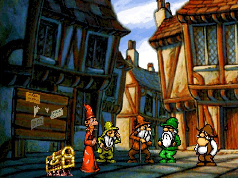 Discworld Classic Point And Click Adventure Did You Get The Number Of That Donkey Cart Discworld Game Adventure Retro Gaming