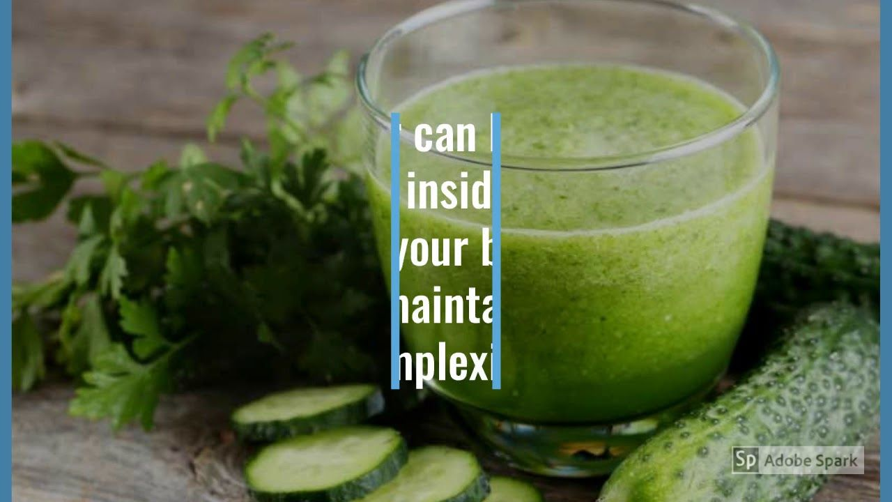 """The best way to get Healthy and Glowing Skin - """"DRINK JUICE"""
