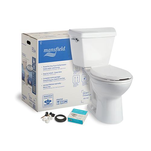 Toilets And Bidets Mansfield Plumbing In 2020 Plumbing Toilet Diy Plumbing