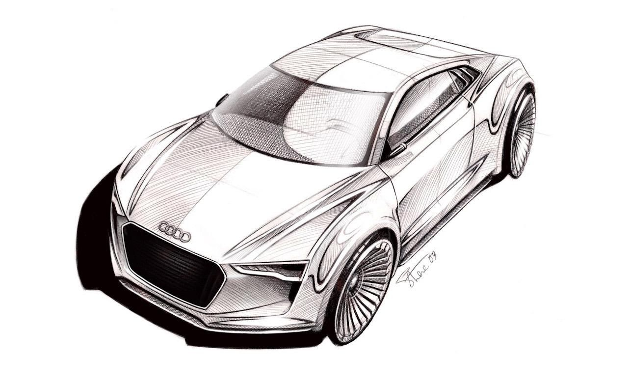 Audi Concept Rendering Id Drawings Audi Sketches Concept