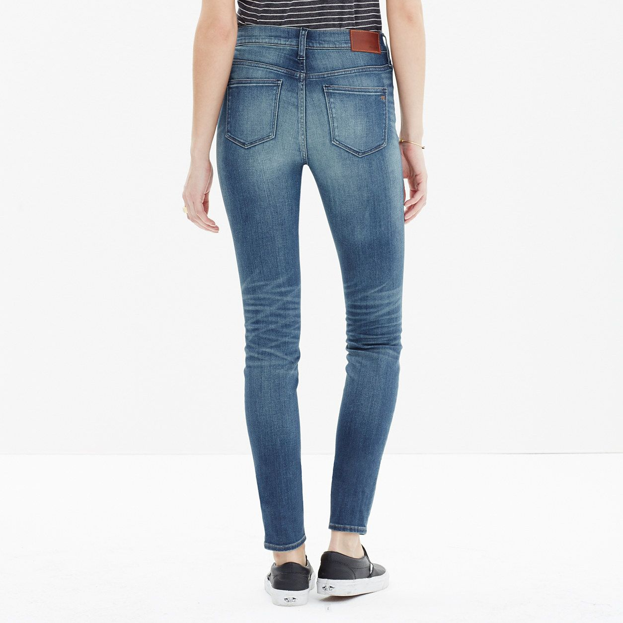 High Riser Skinny Skinny Crop Jeans: Patch-Pocket Edition : high riser skinny jeans | Madewell