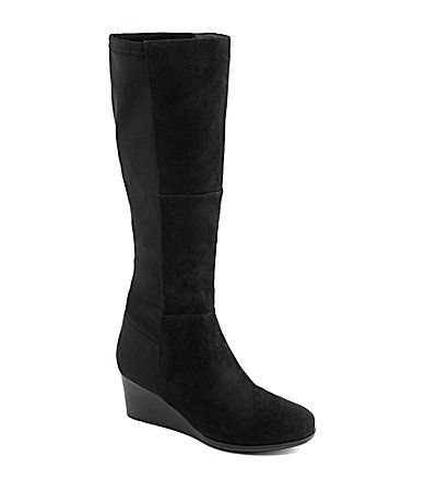 Rockport Total Motion Wedge Boots #Dillards