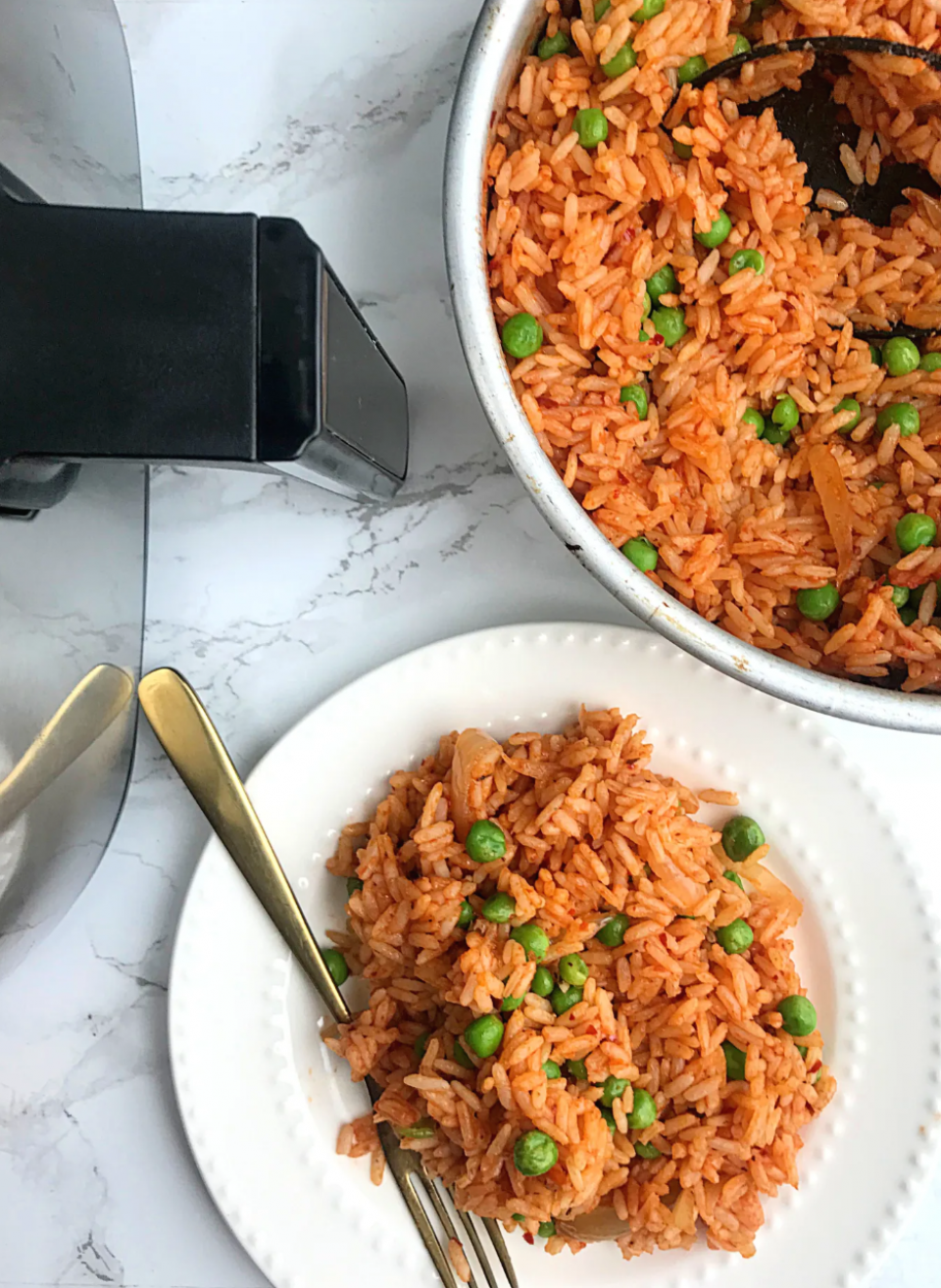 Air fryer Mexican Rice Spanish Rice mexicanrice