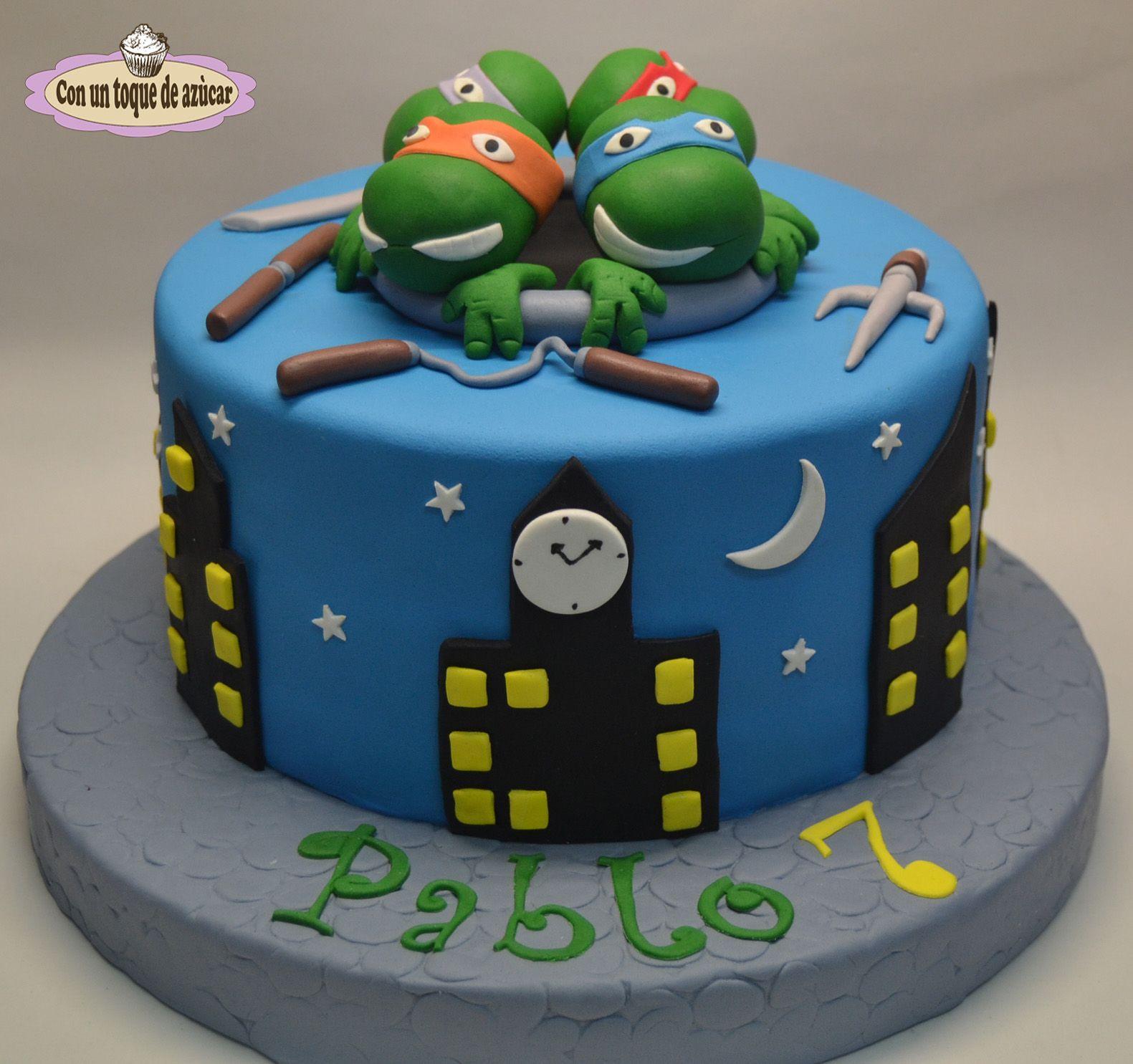 Tarta Tortugas Ninja Ninja Turtles Cake Tortugas Ninja