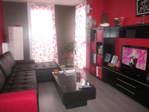 salon rouge et noir | A A NEW DANI SPACE DECOR!!!!!!!!!! | Deco ...