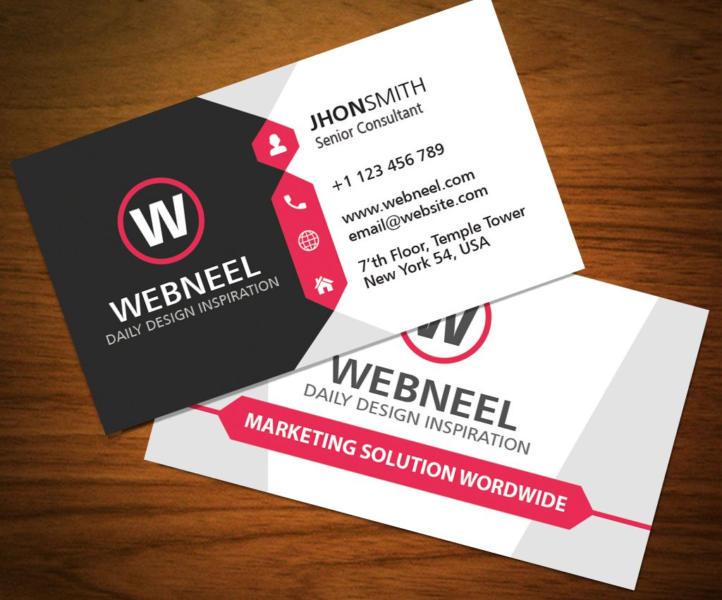 32 Modern Business Card Template Free Download With Download Visiting Card Templates Free Business Card Templates Visiting Card Templates Card Templates Free