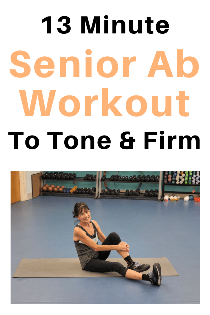 Ab Workout For Seniors Fitness With Cindy in 2020 Abs