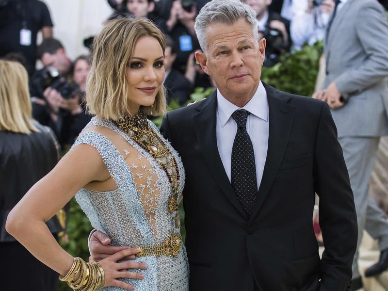 David Foster Katharine Mcphee Celebrity Couples Celebs Couples