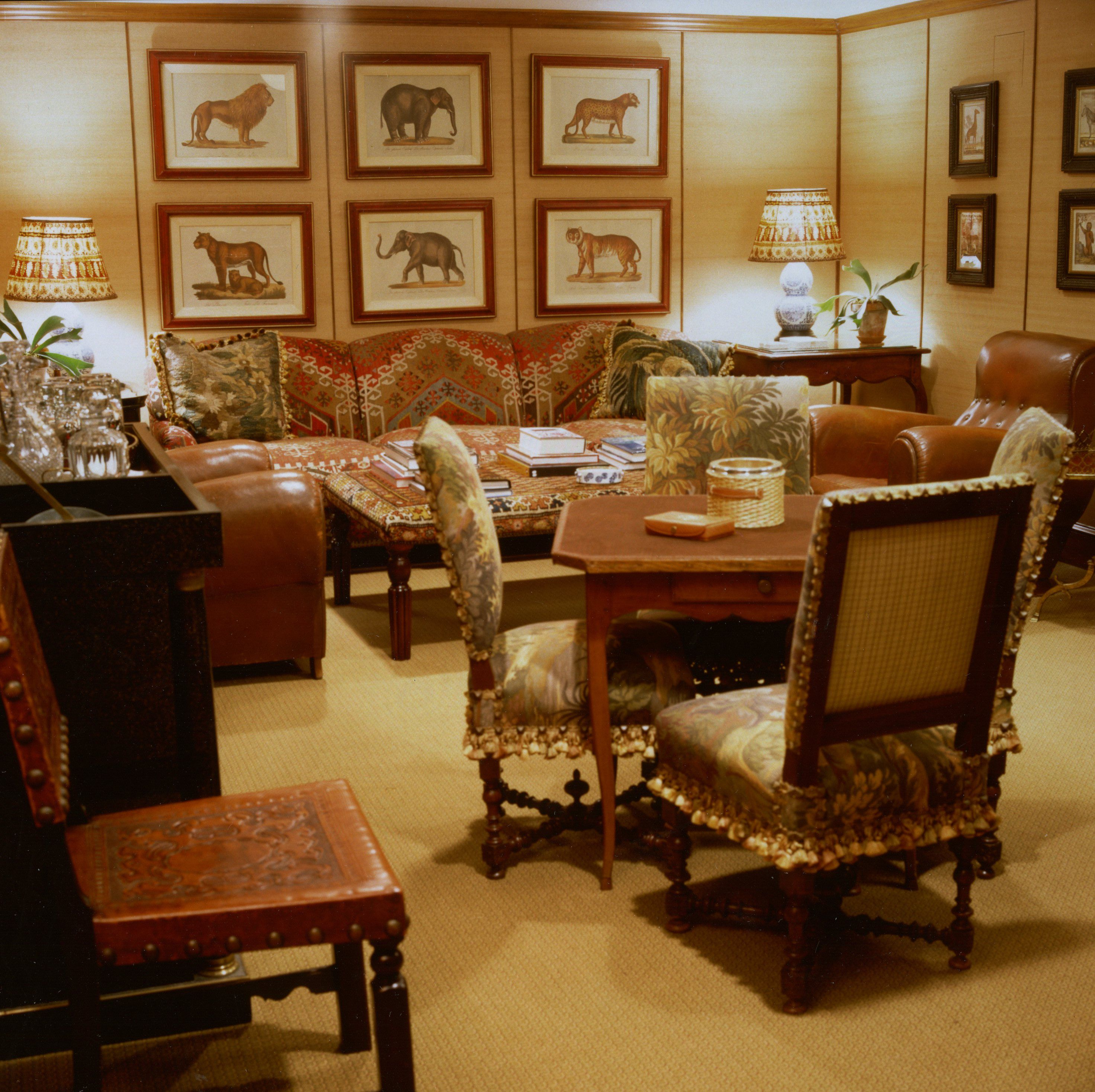 Card Room In Country House, Howard Slatkin