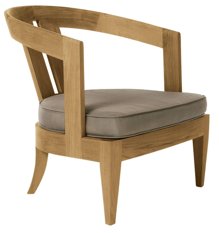 Contemporary garden armchair (teak) - OLYMPUS by John Hutton ...