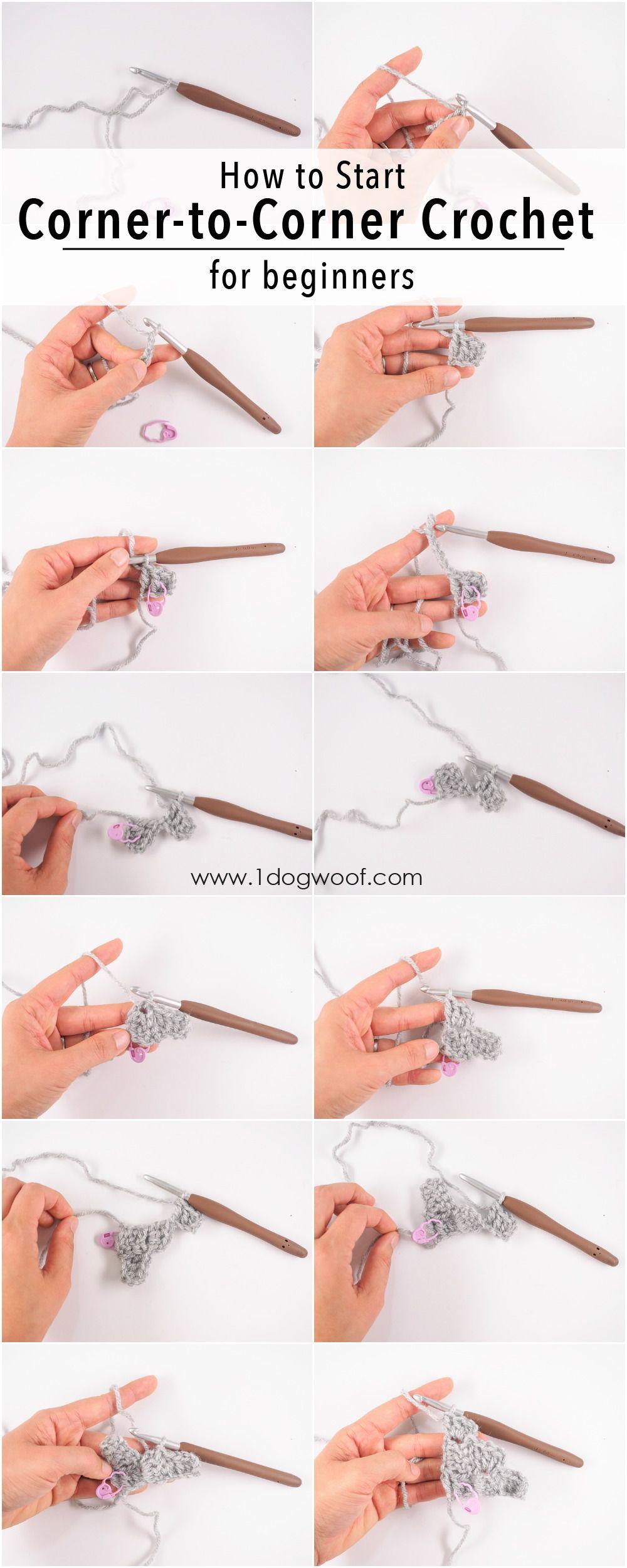 9 Corner to Corner Crochet Pictorials for Beginners | tejido 2 ...