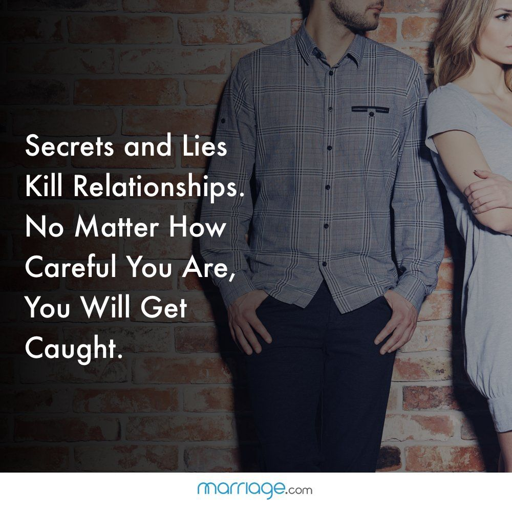 Cheating Quotes - Secrets and Lies Kill Relationships. No Matter How Careful You... #cheatsquotes