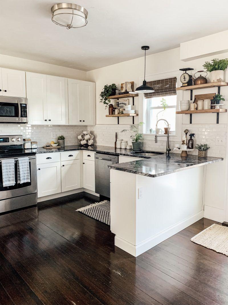 Modern Farmhouse Kitchen Makeover Reveal