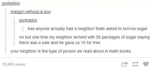 Person we read about in math books, tumblr funny
