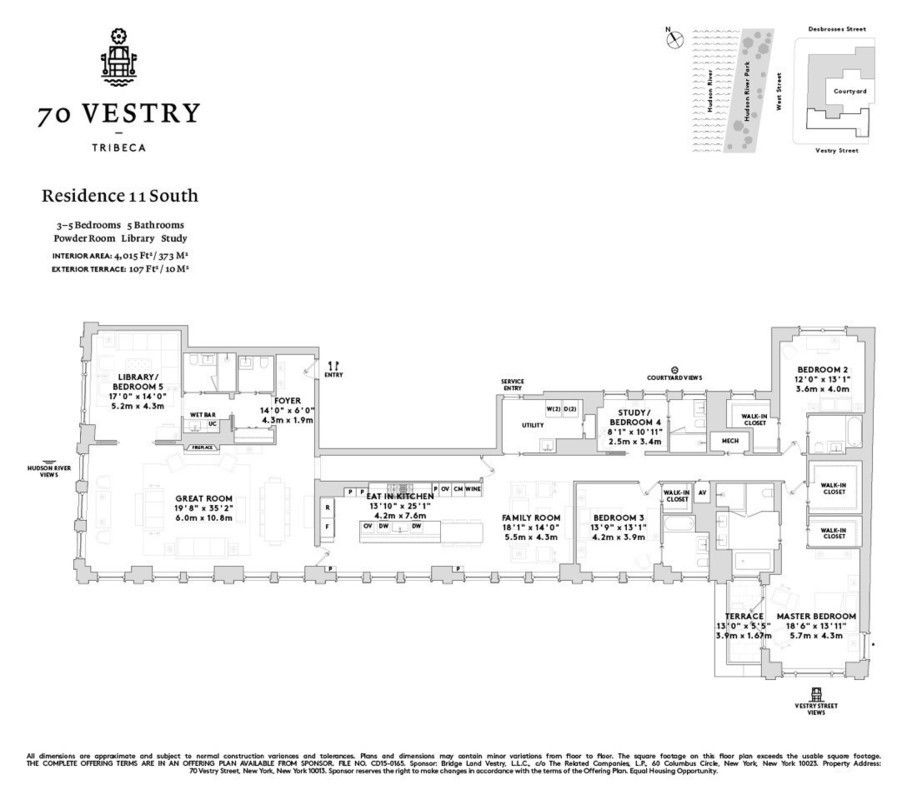 Streeteasy 70 Vestry Street In Tribeca 11s Sales Rentals Floorplans Streeteasy Floor Plans New York Apartments New York City Apartment