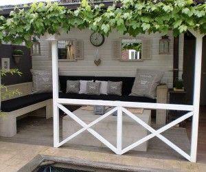 Inrichting Overkapping Tuin : Leuke inrichting voor een overkapping outdoor garden inspiration