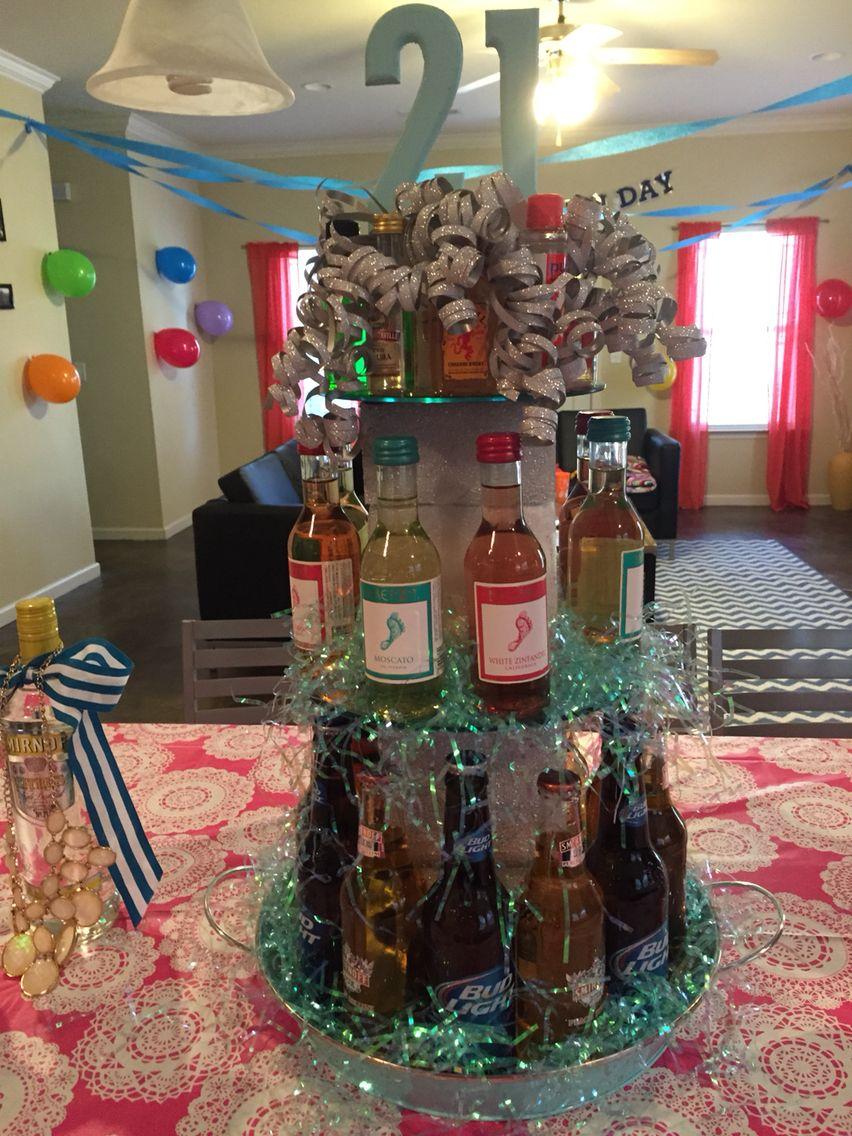 21st birthday idea! 21st birthday, Diy crafts, Crafts