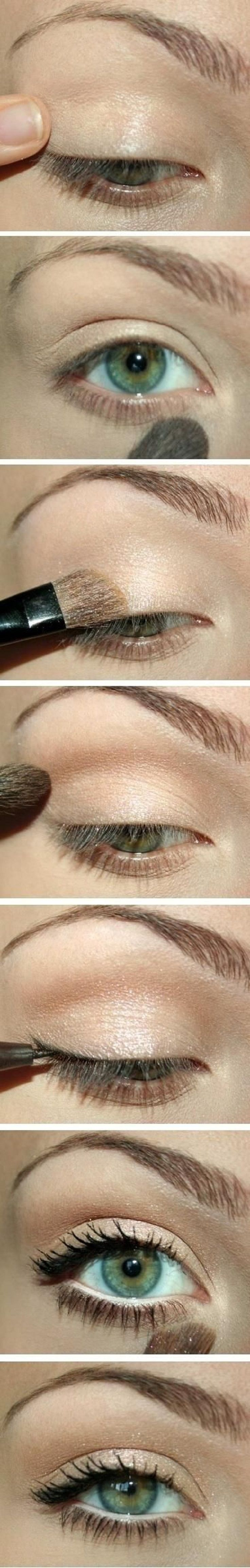Natural eye makeup top 10 simple easy makeup tutorials natural check out this tutorial for natural eye makeup get the look with makeup from beauty baditri Choice Image