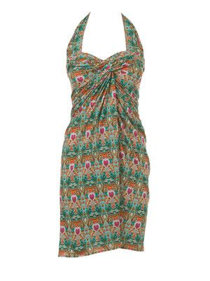 125b 0713 B Recycelte Mode Wickelkleid Muster Und Kleid