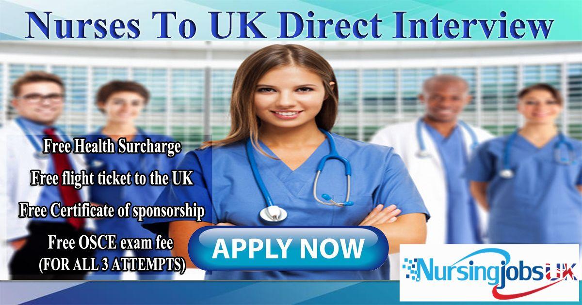 Free uk nursing placement direct employer interview