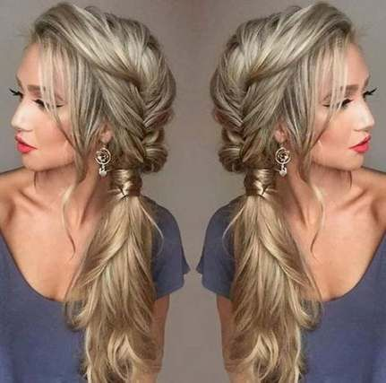 Super Wedding Hairstyles For Long Hair To The Side Extensions 21 Ideas