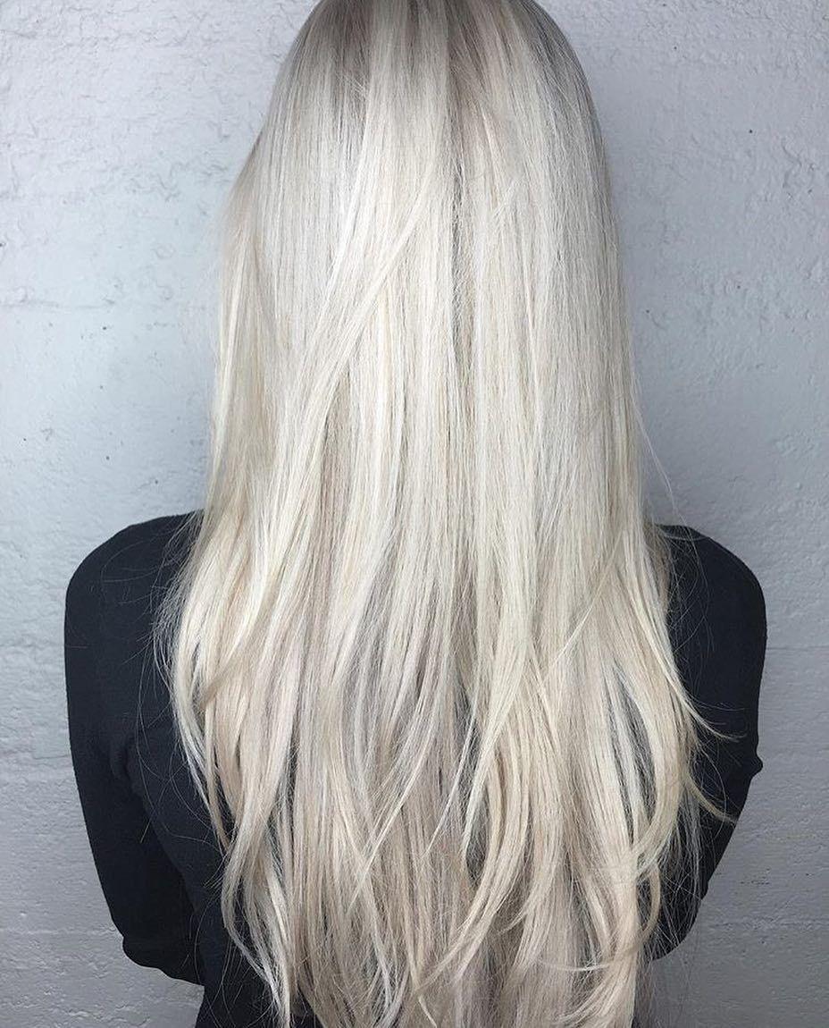 Färben weißblonde haare Olaplex: Haare