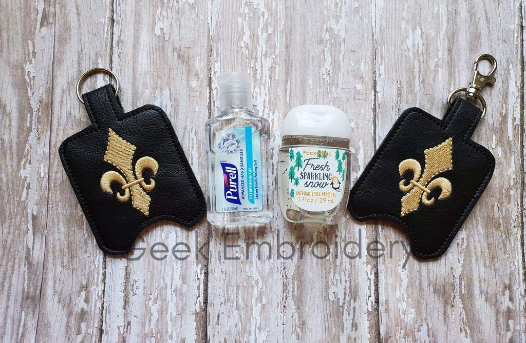 Fleur De Lis Hand Sanitizer Holder Hand Sanitizer Holder Hand