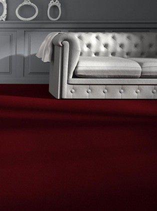 Moquette Rouge velours PROMESSE - Saint Maclou | New home furniture ...
