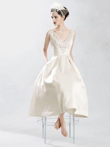 mid-century modern wedding dress | Wedding Bits: Mid-Century Wedding ...