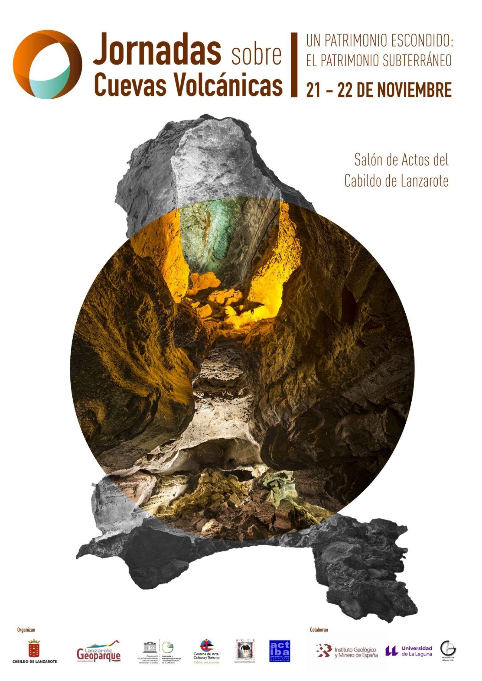 Jornadas Sobre Cuevas Volcánicas Geoparque Volcanes Cuevas Jornada