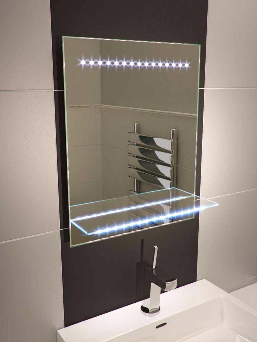 Bathroom Mirror With A Light Zerkalo Rama
