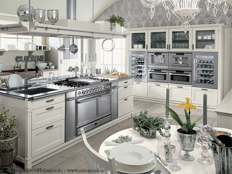 Minacciolo Cucine Country. Mammut Extraction Hood And Min Kitchen At ...