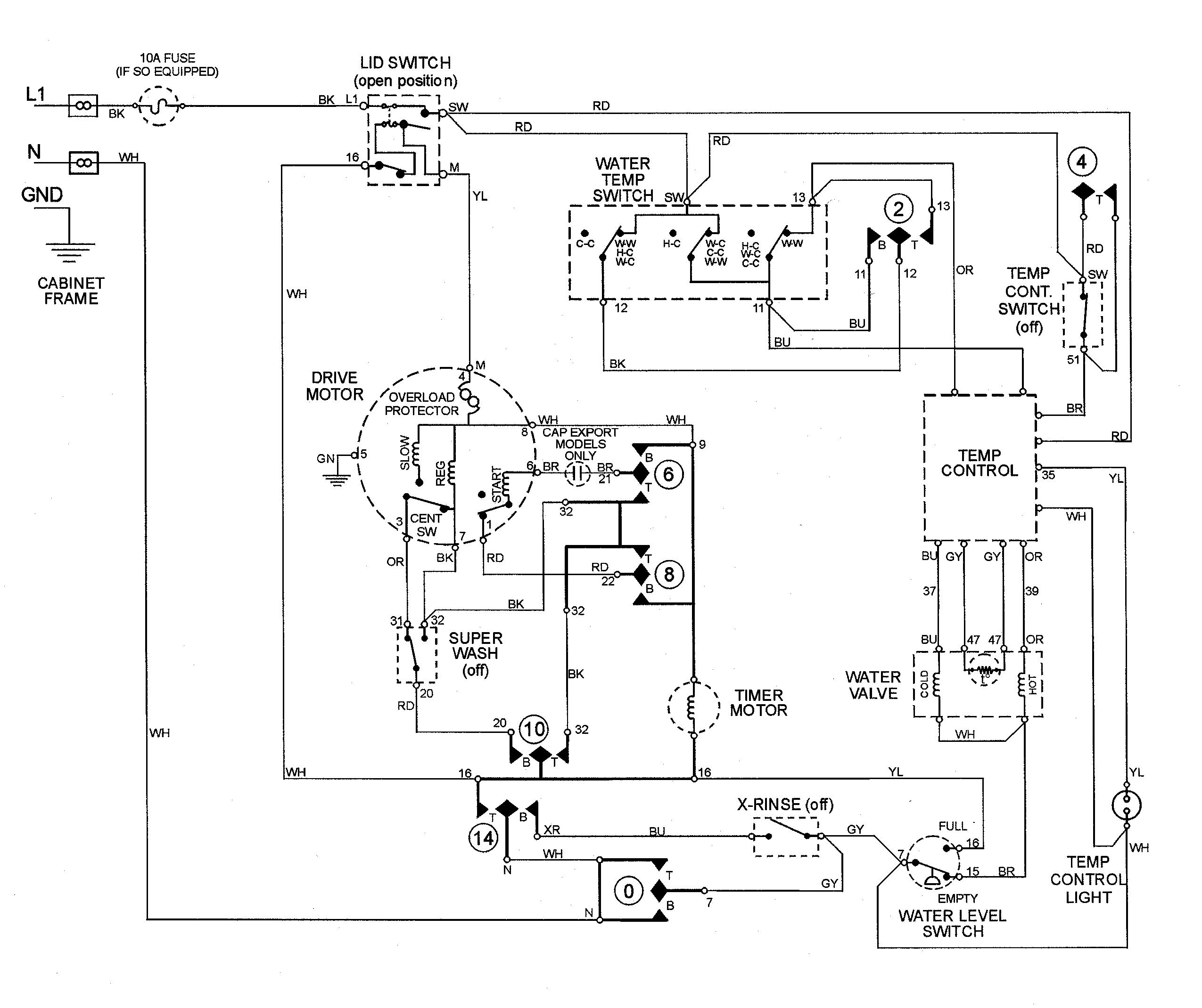 Wiring Diagram For Ge Refrigerator | Ge Profile Wiring Schematic |  | Wiring Diagram
