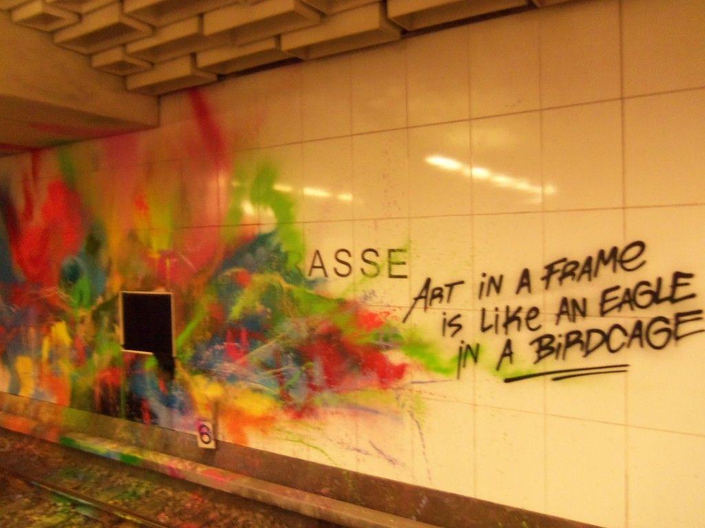 AA Ubf Blissestr_Julia_NOTE & WALL-Kunstwerk 2 | Street Art | Pinterest
