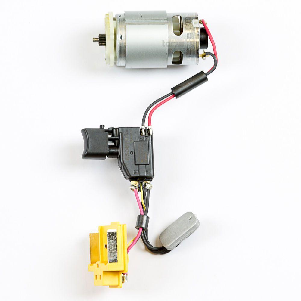 Details zu Makita Gleichstrommotor 18 V mit Schalter DHP453 original ...