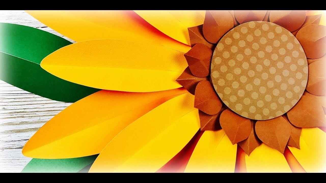 GIRASOL | CÓMO HACER UN GIRASOL | GIRASOL GIGANTE DE PAPEL | MOLDES GRAT...  | Como hacer un girasol, Decoración de flores de papel, Molde de girasol