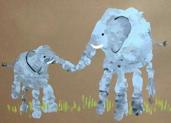 Elephant hands-good project for Darren and Audrey