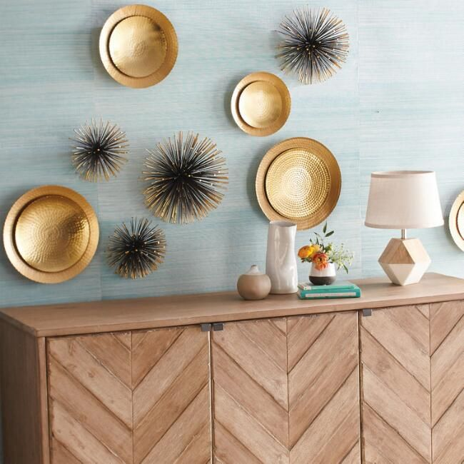 Sea Urchin Wall Décor Gold Project 62