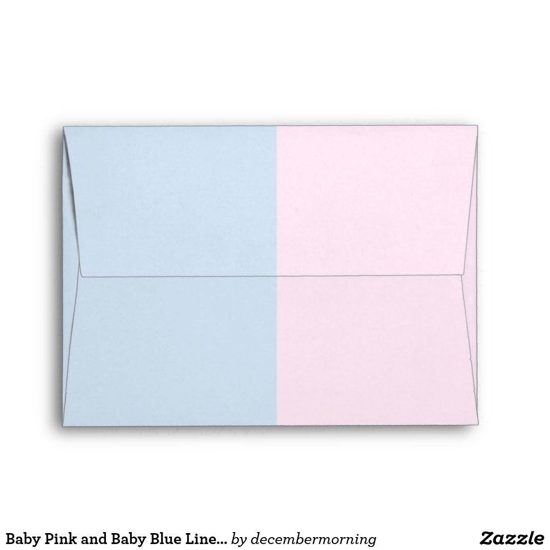 baby pink and baby blue linen envelopes in 2018 baby shower