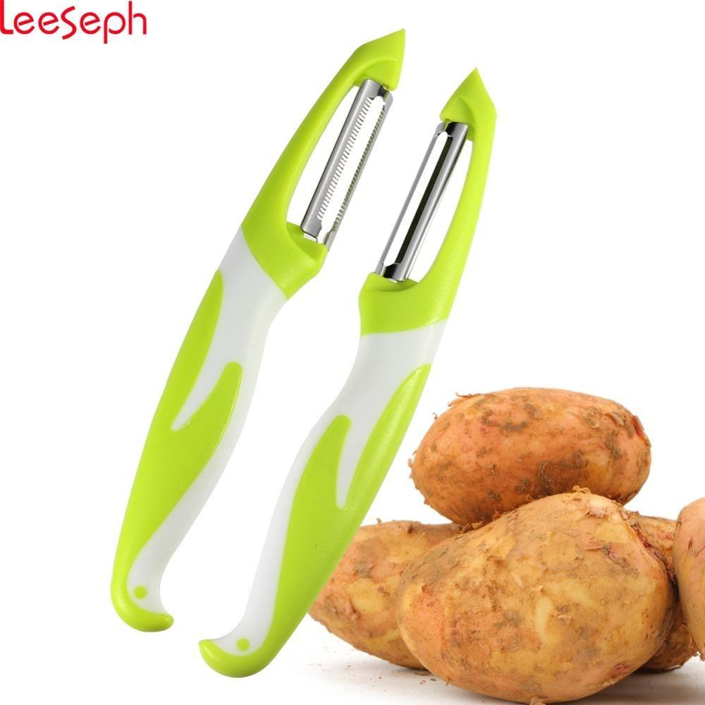 Stainless Steel Blade Potato Fruit Vegetable Peeler