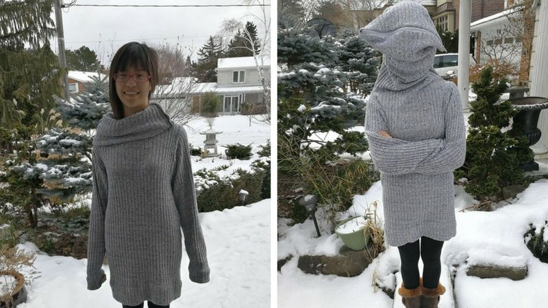 The leave me alone sweater is right for you if suffer from crippling social anxiety? Do you like to take naps while you're supposed to be studying? Do you #sweater #studying #entertainment
