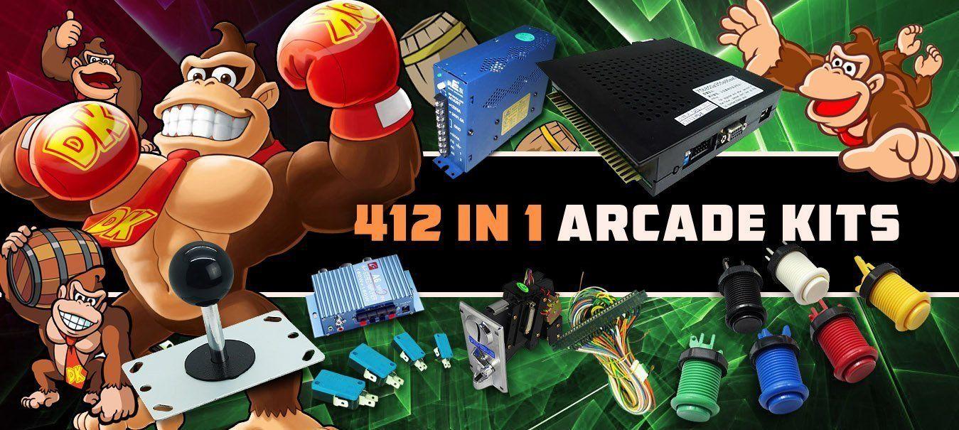 diyarcadeus Kit games, Arcade, Arcade parts