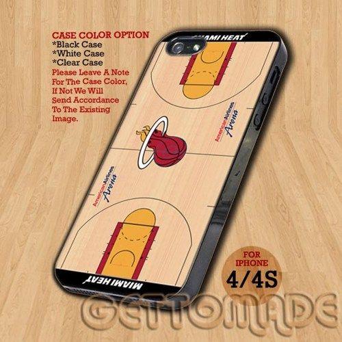 NBA Basketball Team Miami Heat - Print On Hard Case iPhone 4/4S Case