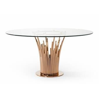 Signature Designs Dining Table Dining Table Modern Dining Table Circular Dining Table