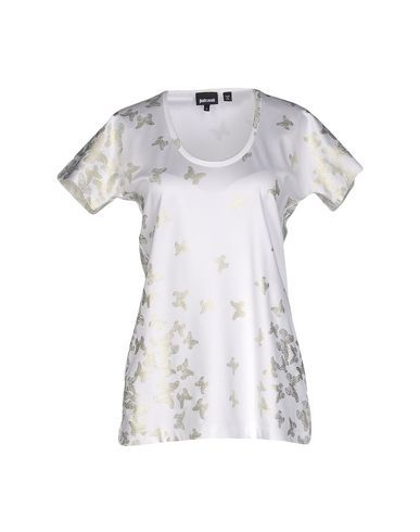 JUST CAVALLI T-Shirt. #justcavalli #cloth #dress #top #skirt #pant #coat #jacket #jecket #beachwear #