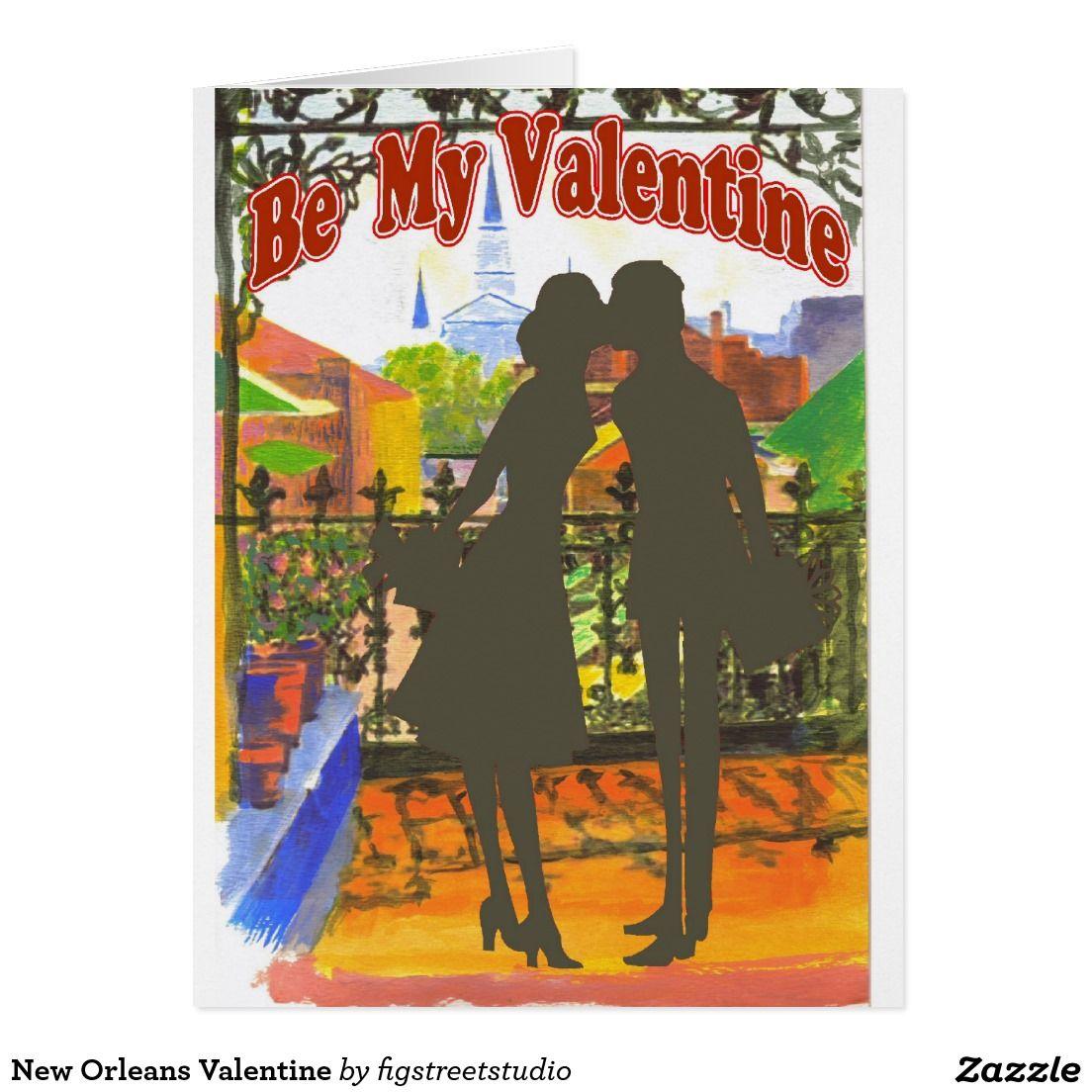 New Orleans Valentine Card Pinterest