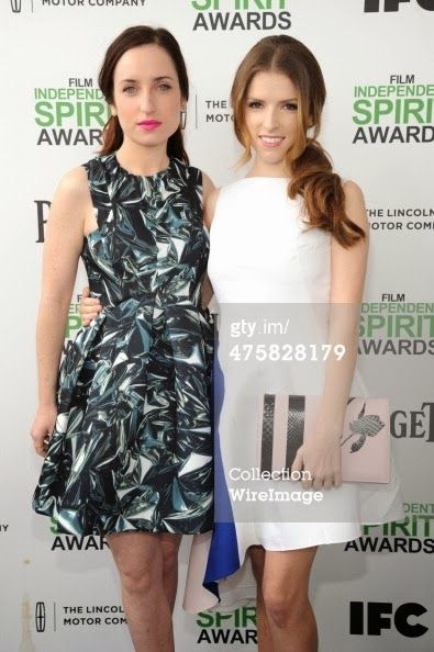 Rocky Coast News NHVT: Anna Kendrick & Zoe Lister Jones: Film Independent Spirit Awards 2014