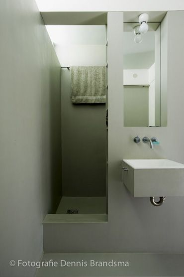Small foot print bathroom great for ensuite Outdoor Spaces
